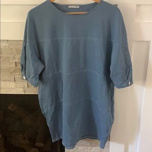 Zara tunic top. Runs large.